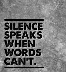 silence-speaks