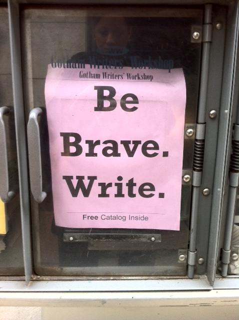 be-brave-write