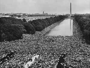 dream speech crowd