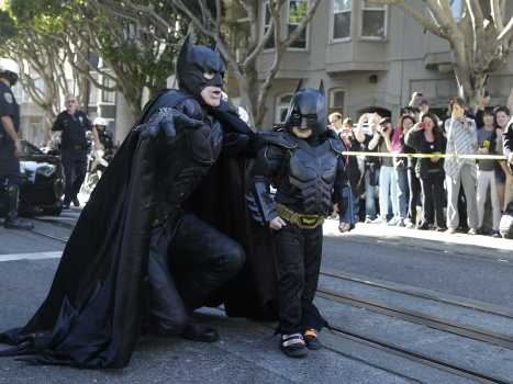 Batkid and Batman