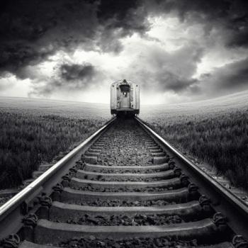 Distant train 1
