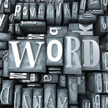 Word block